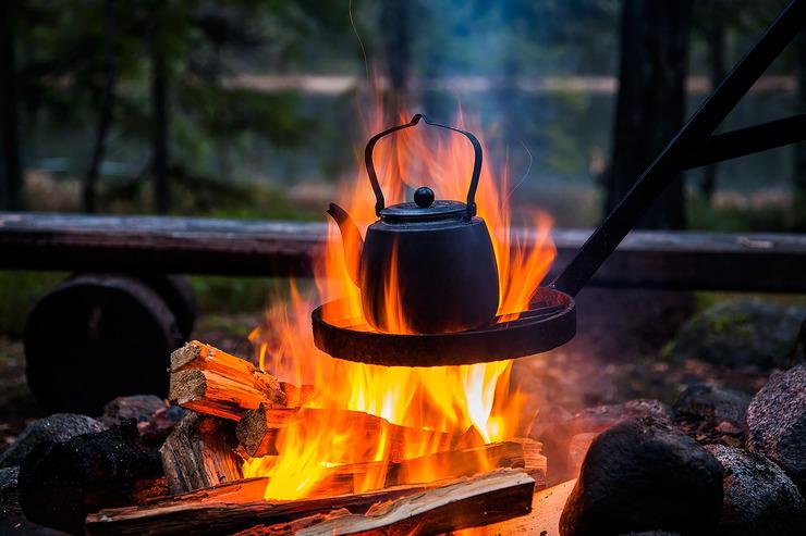 Температура горения дерева в костре